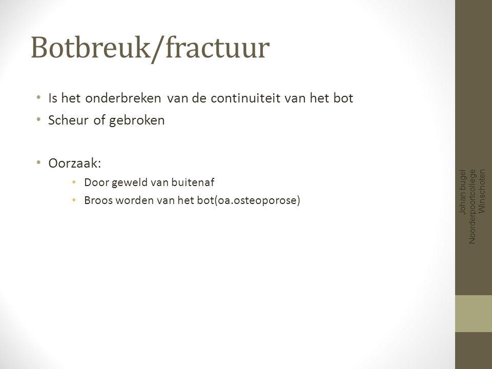 Extern geweld Johan bugel Noorderpoortcollege Winschoten