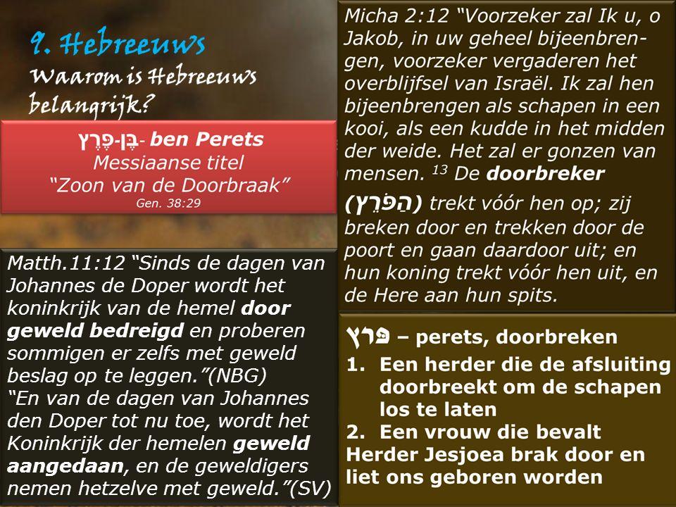 """Matth.11:12 """"Sinds de dagen van Johannes de Doper wordt het koninkrijk van de hemel door geweld bedreigd en proberen sommigen er zelfs met geweld besl"""