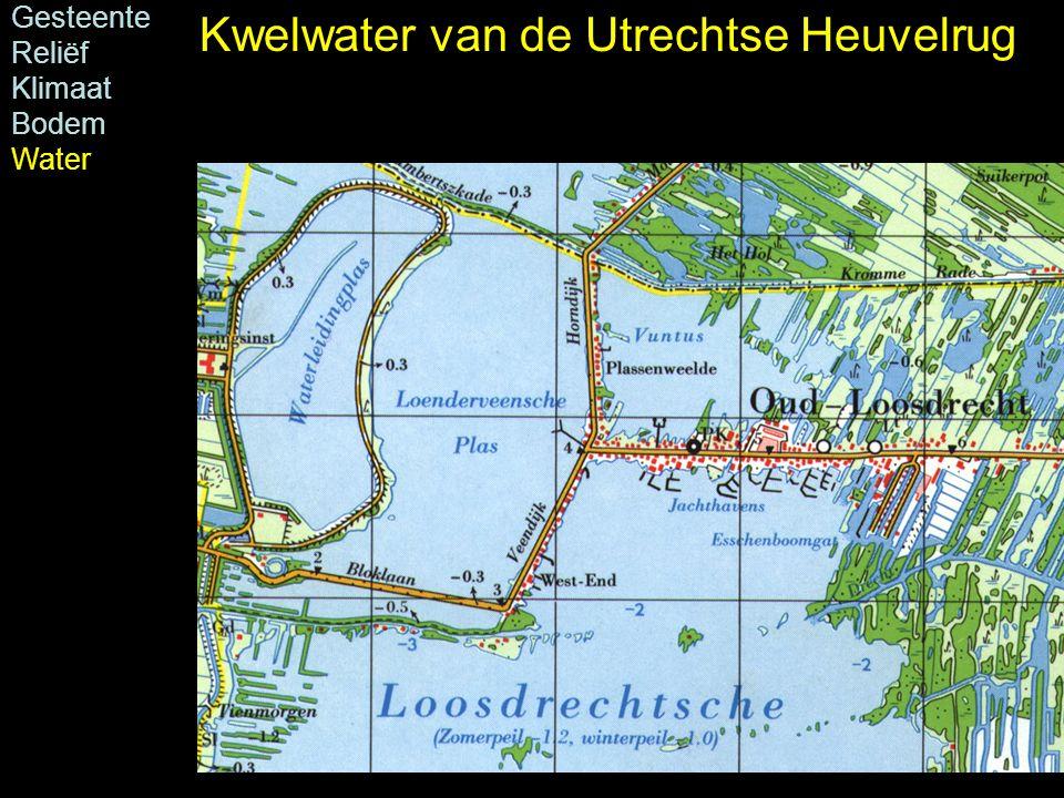 Gesteente Reliëf Klimaat Bodem Water Kwelwater van de Utrechtse Heuvelrug