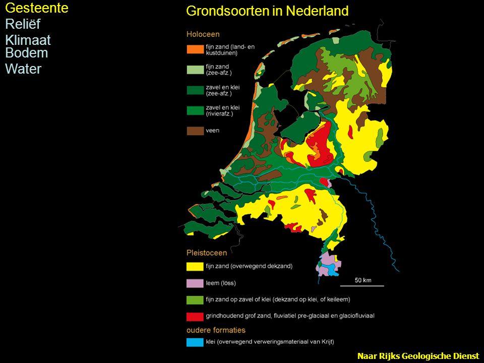 Naar Verbraeck 1970 Rivierduinen Gesteente Reliëf pleistoceen Klimaat Bodem Water