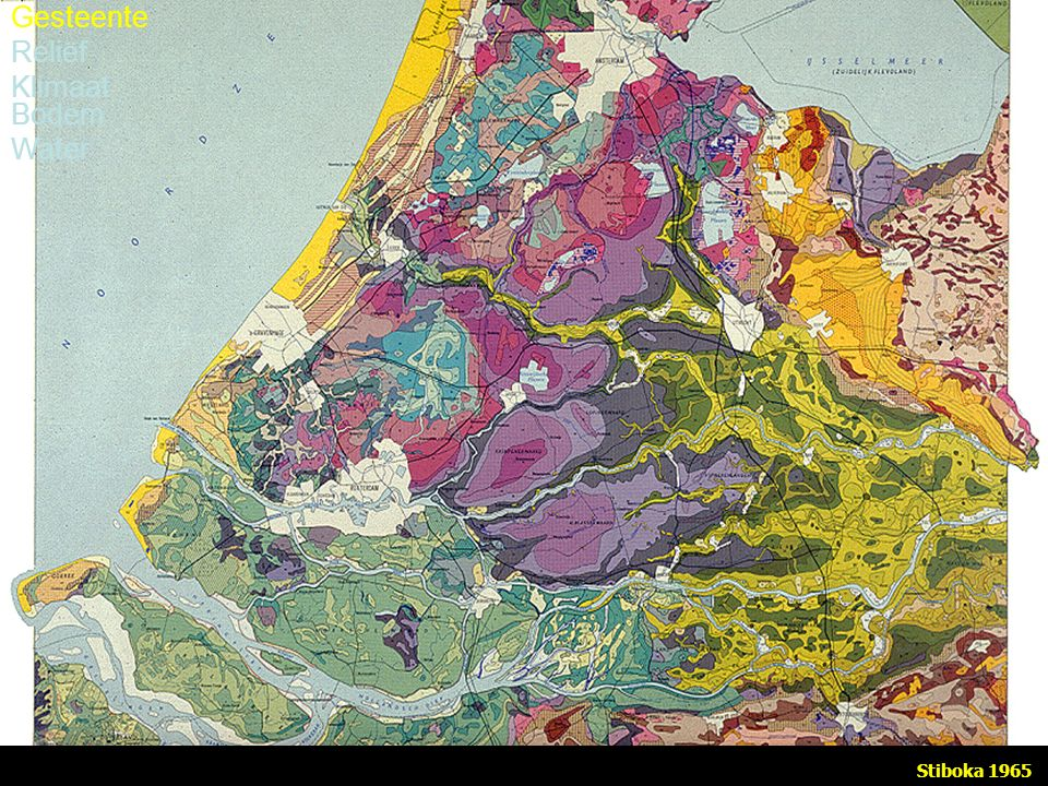 Stiboka 1965 Gesteente Reliëf Klimaat Bodem Water