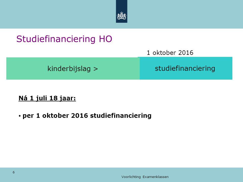 Voorlichting Examenklassen 17 Studeren in vijf stappen 1.