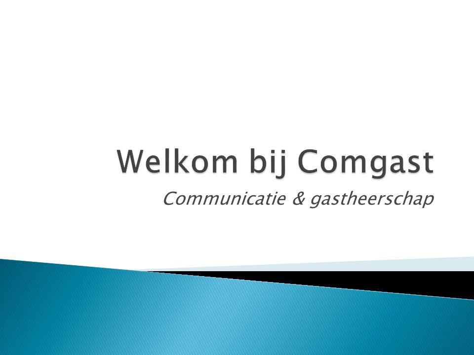 Communicatie & gastheerschap