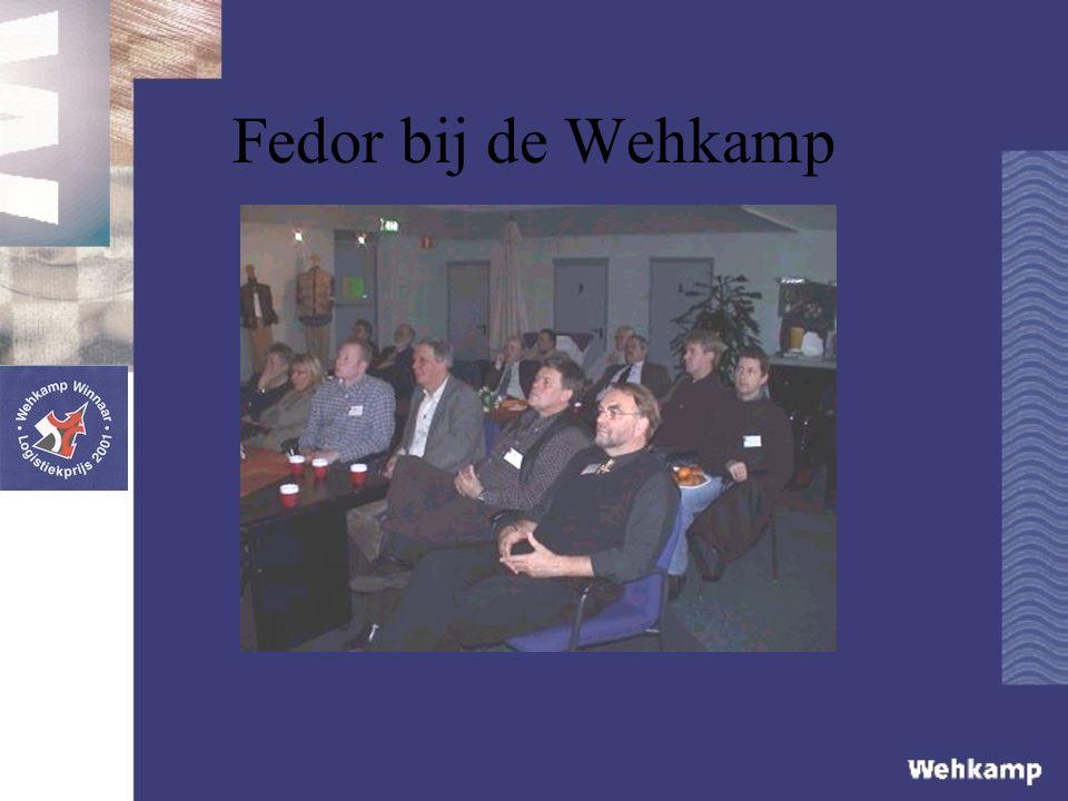 Fedor bij de Wehkamp