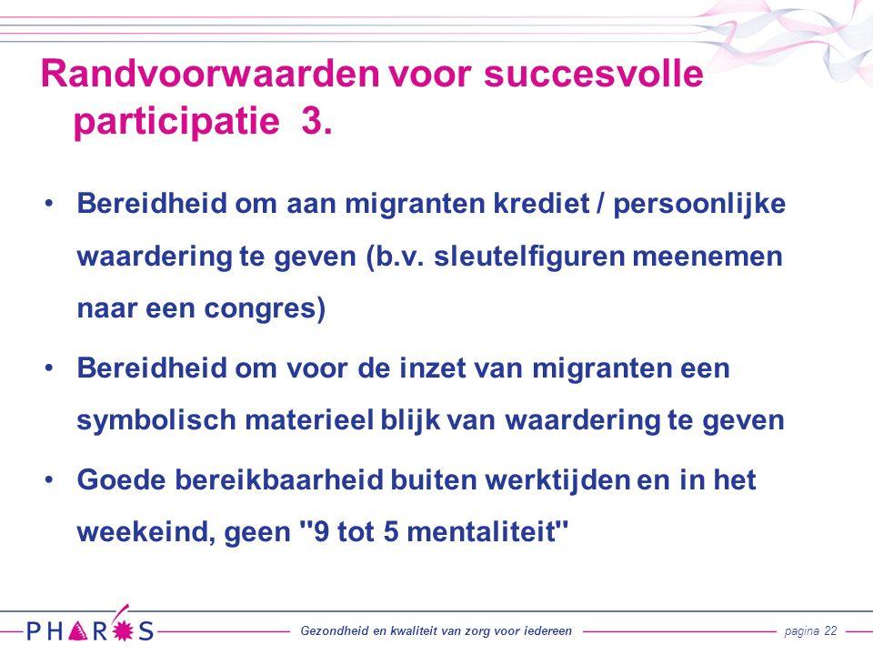 Bereidheid om aan migranten krediet / persoonlijke waardering te geven (b.v.