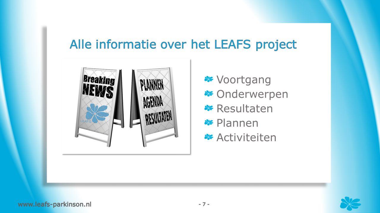 www.leafs-parkinson.nl - 7 -
