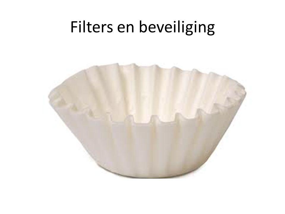 Filters en beveiliging