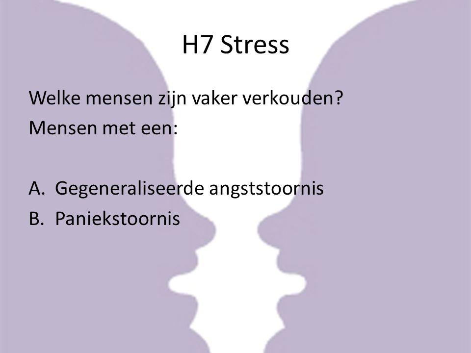Stress Fysieke en psychische reactie op stressoren Traumatische stressoren; natuurrampen, persoonlijk verlies, PTSS Chronische stressoren; maatschappelijke stressoren, compassion fatigue, major life events, dagelijkse ergenissen