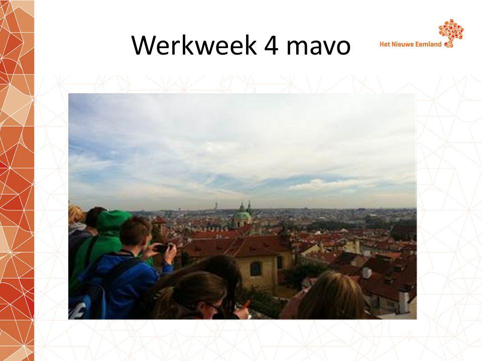 Werkweek 4 mavo