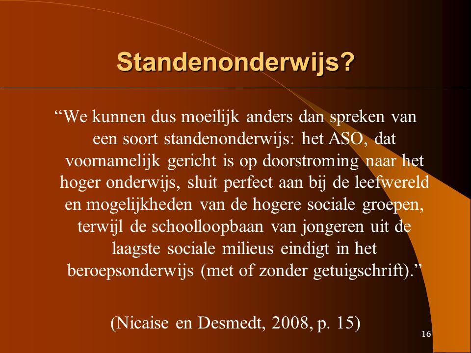 16 Standenonderwijs.