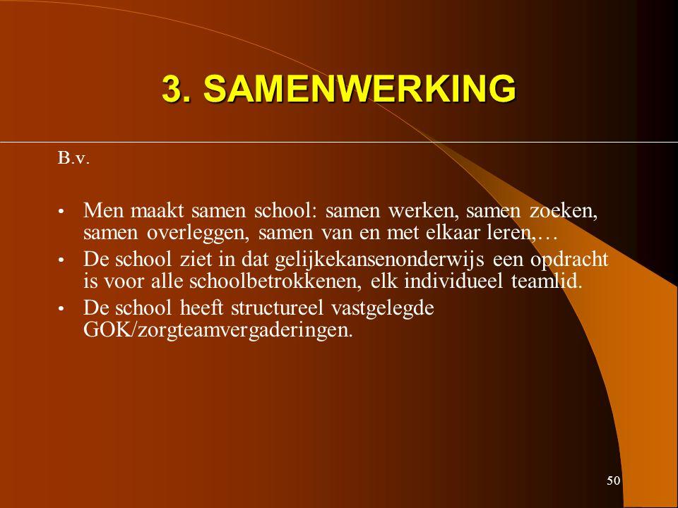 50 3. SAMENWERKING B.v.