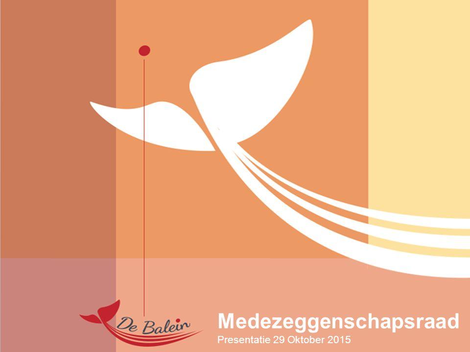 Medezeggenschapsraad Presentatie 29 Oktober 2015
