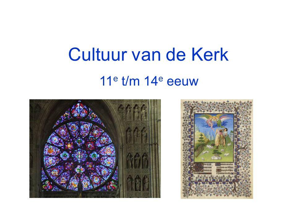 Cultuur van de Kerk 11 e t/m 14 e eeuw