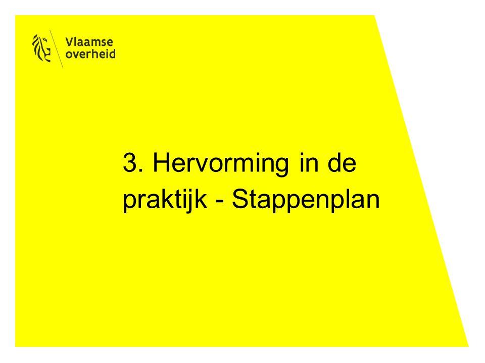 3. Hervorming in de praktijk - Stappenplan
