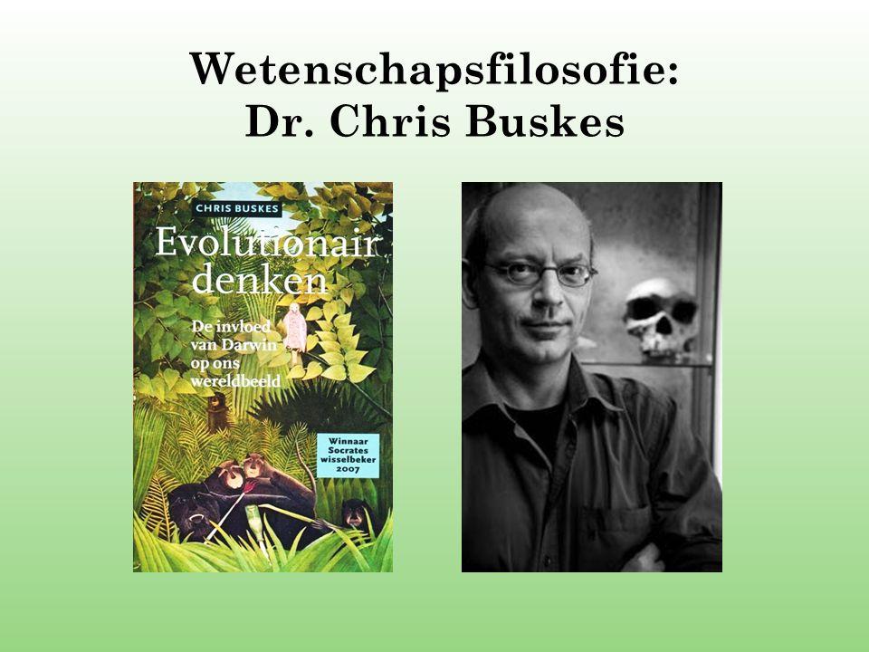 Wetenschapsfilosofie: Dr. Chris Buskes