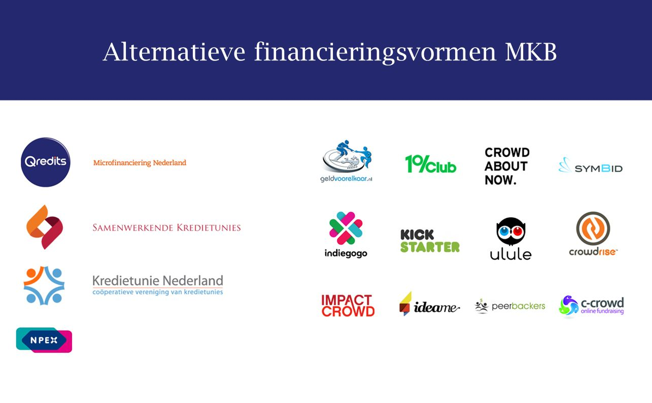 Alternatieve financieringsvormen MKB
