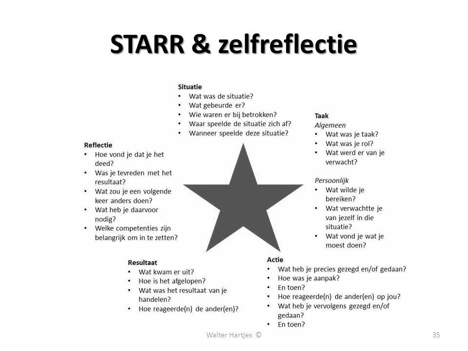STARR & zelfreflectie 35Walter Hartjes ©