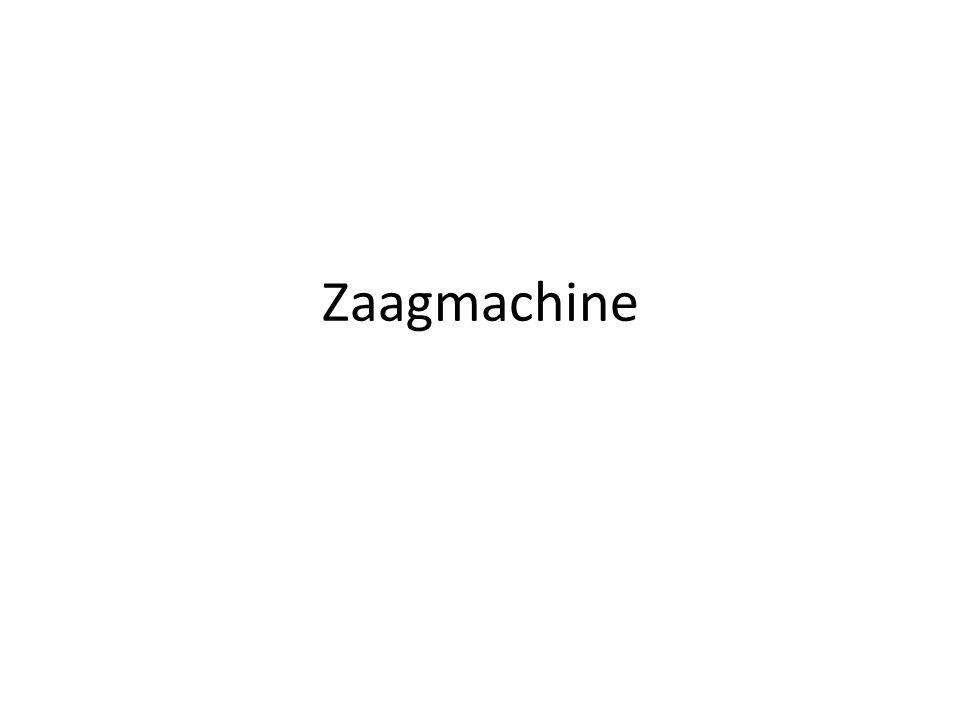 Zaagmachine