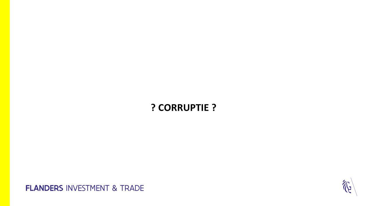 ? CORRUPTIE ?