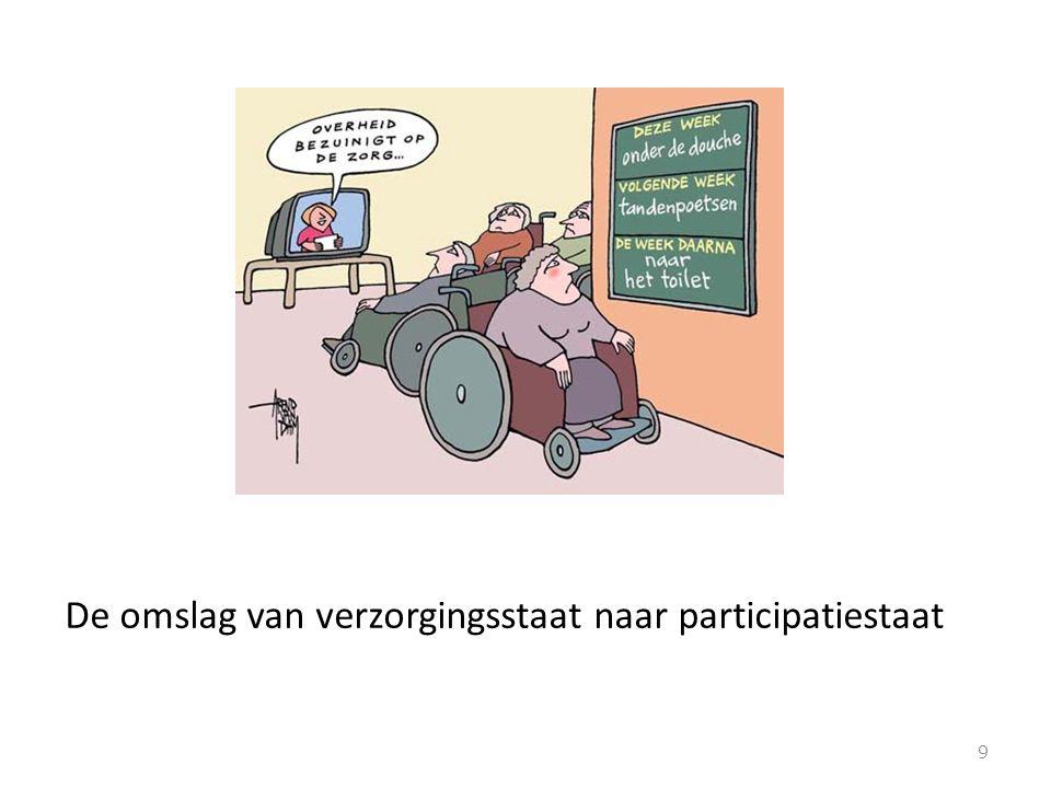 De omslag van verzorgingsstaat naar participatiestaat 9