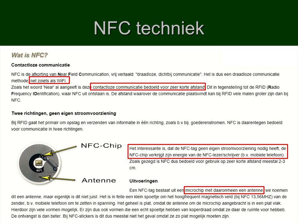 NFC techniek