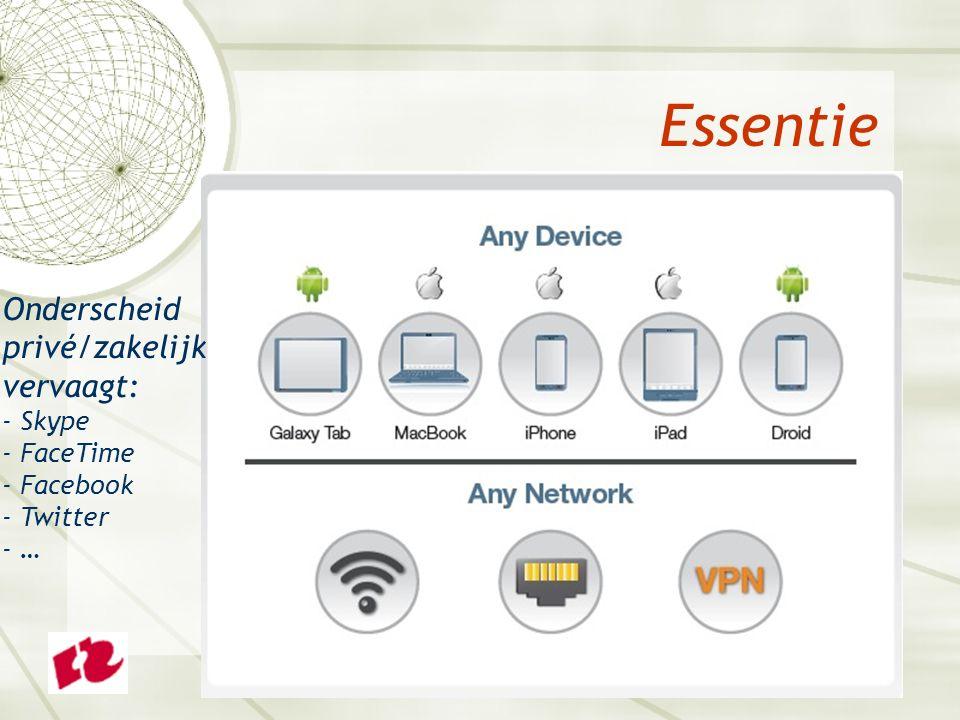  Beveiliging afdwingen – wat en hoe. Wie is allemaal mobiel en wat spoken ze ( wie?! ) uit.