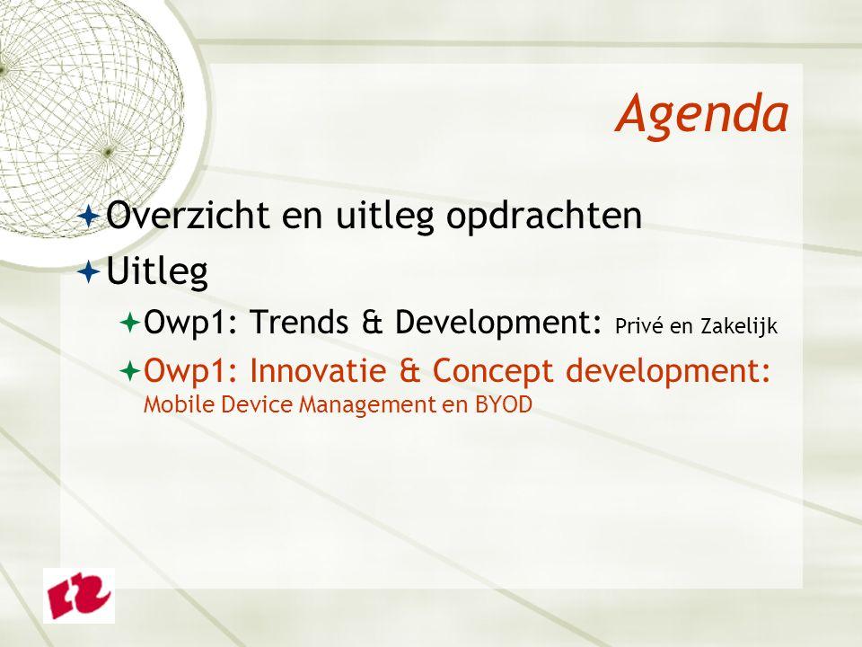 Innovatie & Concept Development  Mobile Device Management: niet de vraag óf, maar hoe 'mobiel' beheersbaar houden