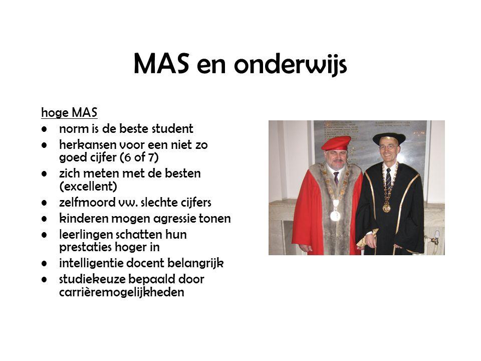 MAS en onderwijs hoge MAS norm is de beste student herkansen voor een niet zo goed cijfer (6 of 7) zich meten met de besten (excellent) zelfmoord vw.