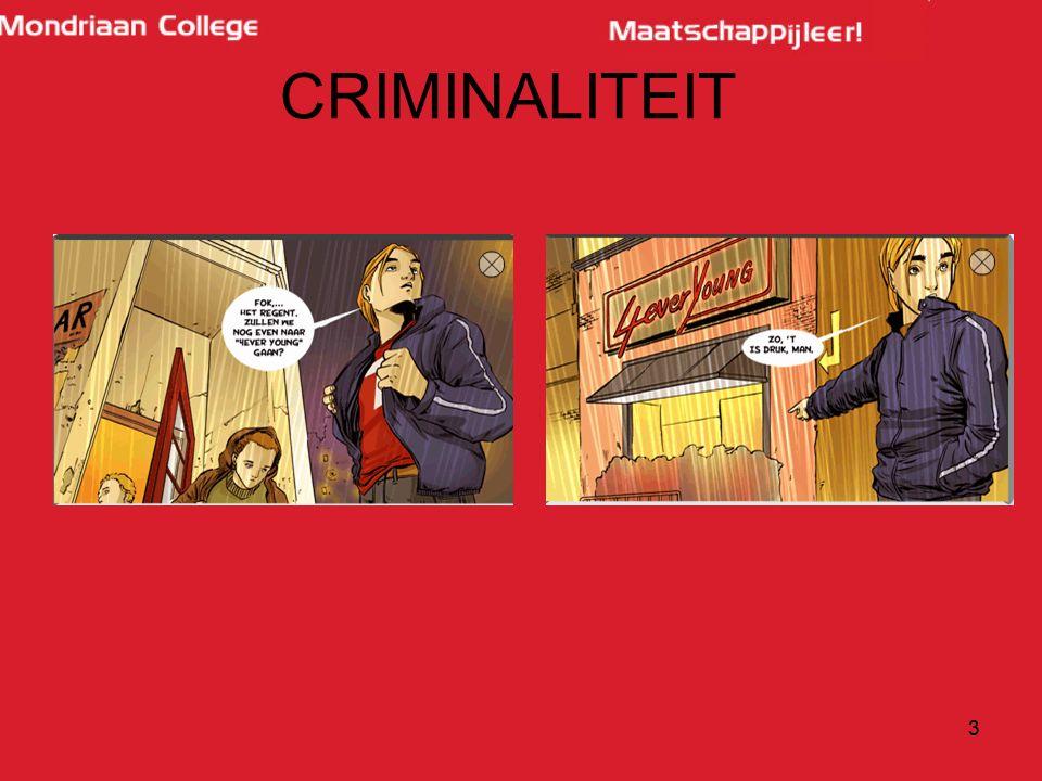 3 CRIMINALITEIT
