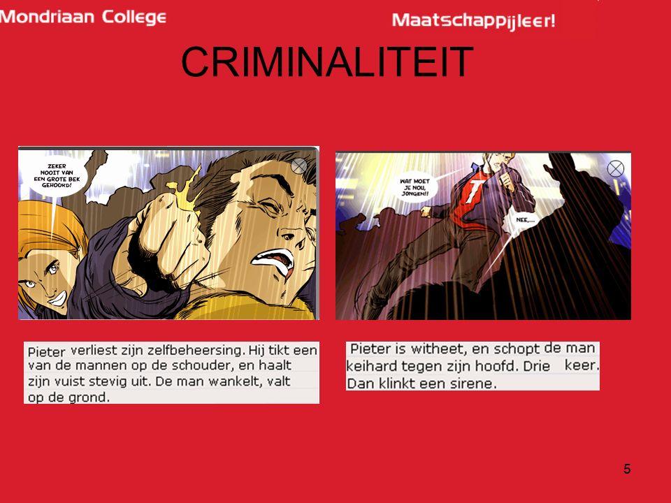 36 H7: voor de rechter Officier van justitie: wil bewijzen dat de verdachte schuldig is Advocaat: verdedigt de verdachte.