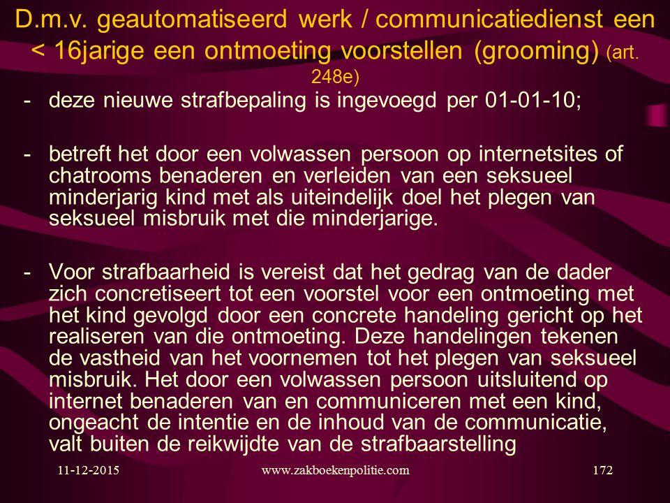 11-12-2015www.zakboekenpolitie.com172 D.m.v.