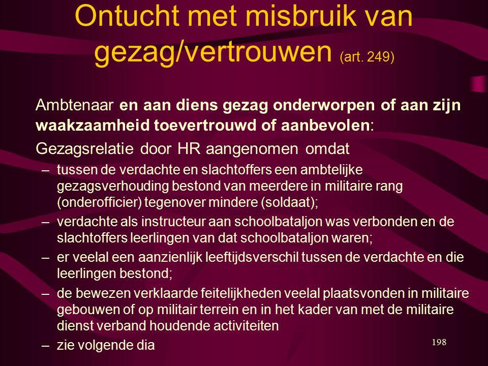 198 Ontucht met misbruik van gezag/vertrouwen (art.