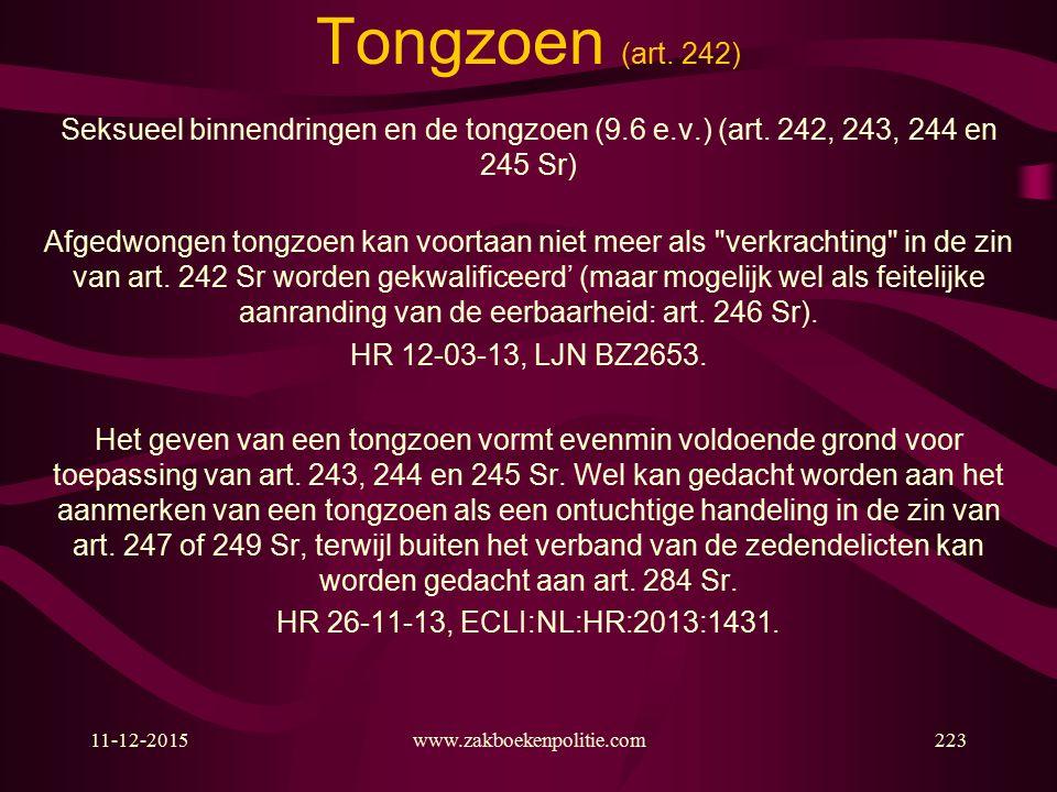 11-12-2015www.zakboekenpolitie.com223 Tongzoen (art.
