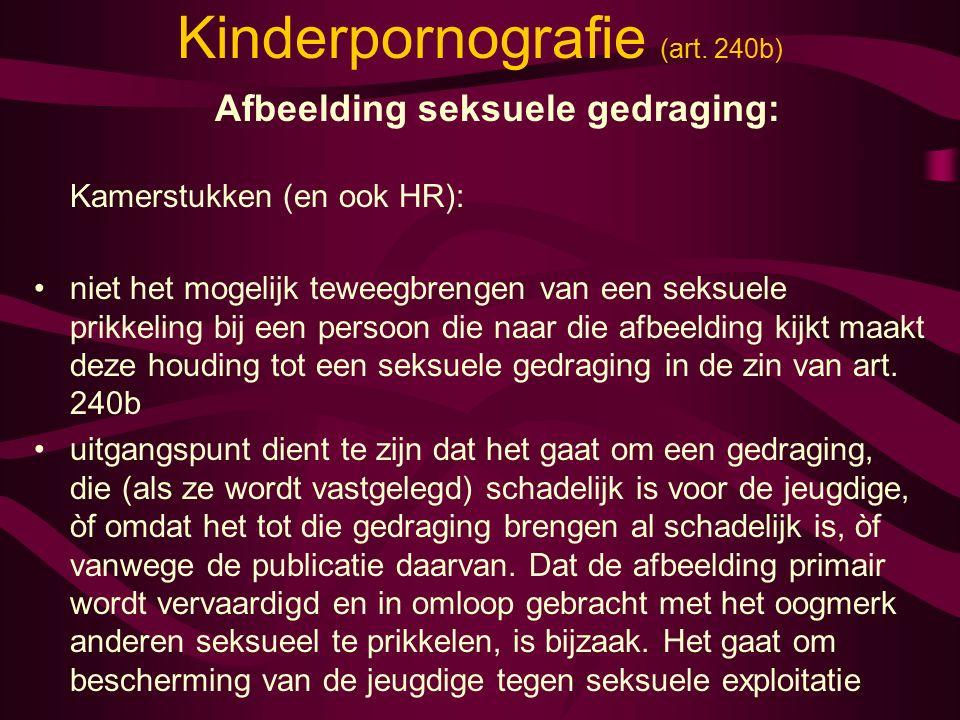 Kinderpornografie (art.