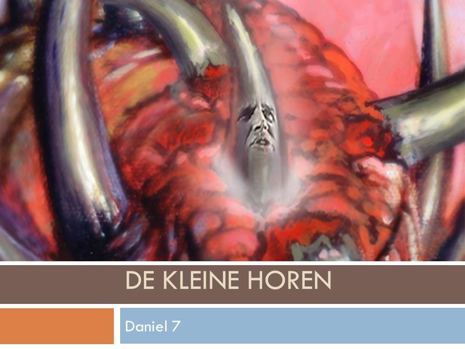 DE KLEINE HOREN Daniel 7