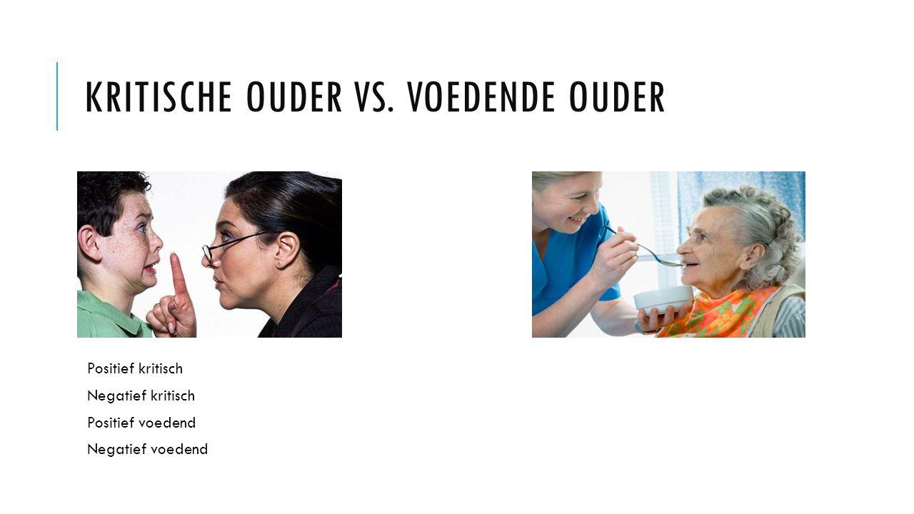KRITISCHE OUDER VS.
