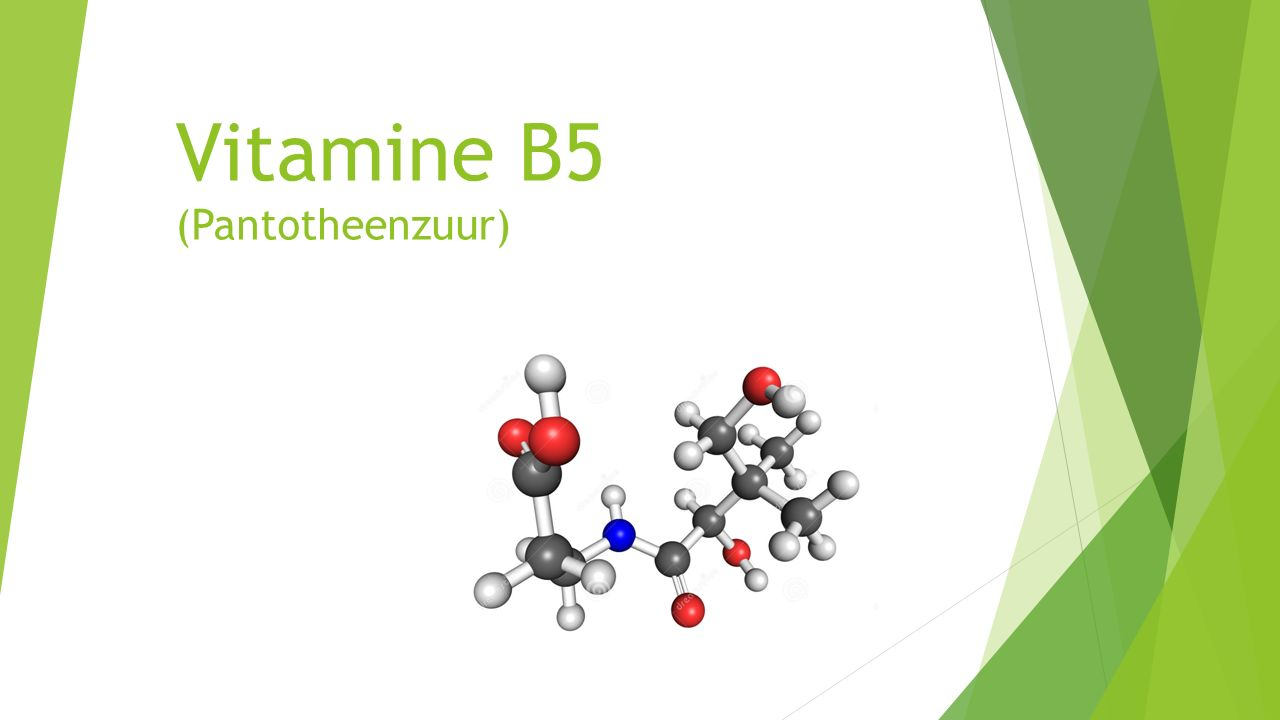 Vitamine B5 (Pantotheenzuur)