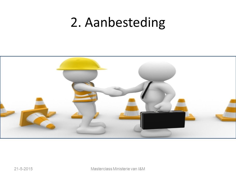 2. Aanbesteding 21-5-2015Masterclass Ministerie van I&M