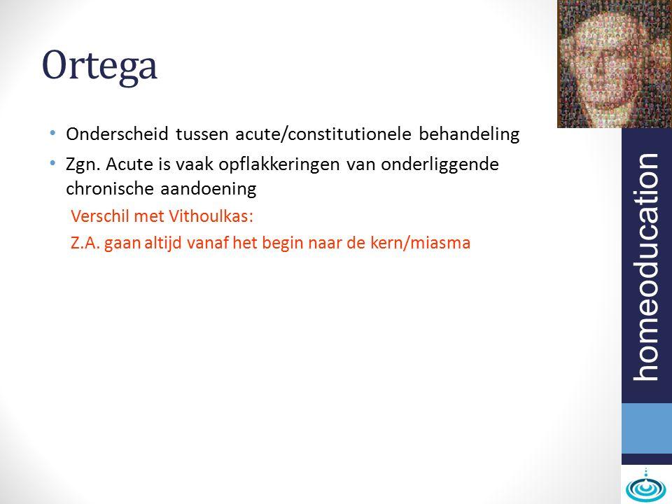 homeoducation Stigma Door overerfde fouten (voeding, levenswijze) Kruis dat de mens draagt Cfr Kent: Ziekte: verkeerde levenskeuze Defect te wijten aan misbruik van de vrije wil = Erfzonde