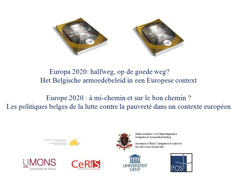 Europa 2020: halfweg, op de goede weg.
