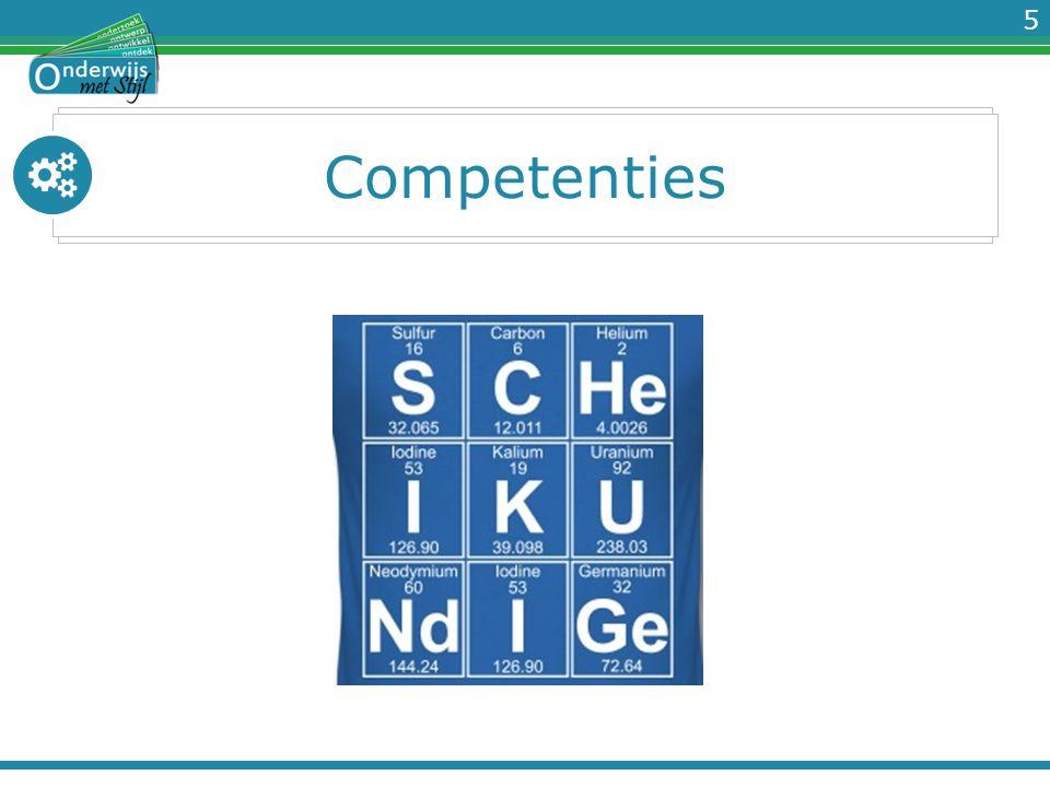 5 Competenties