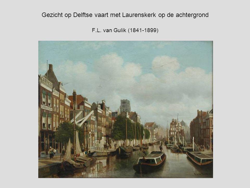 Petrus van Schendel (Dutch, 1806-1870) Maanenschijn: sailing at night near Rotterdam with the St. Laurenskerk beyond