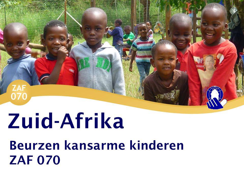 ZAF 070 Zuid-Afrika Beurzen kansarme kinderen ZAF 070