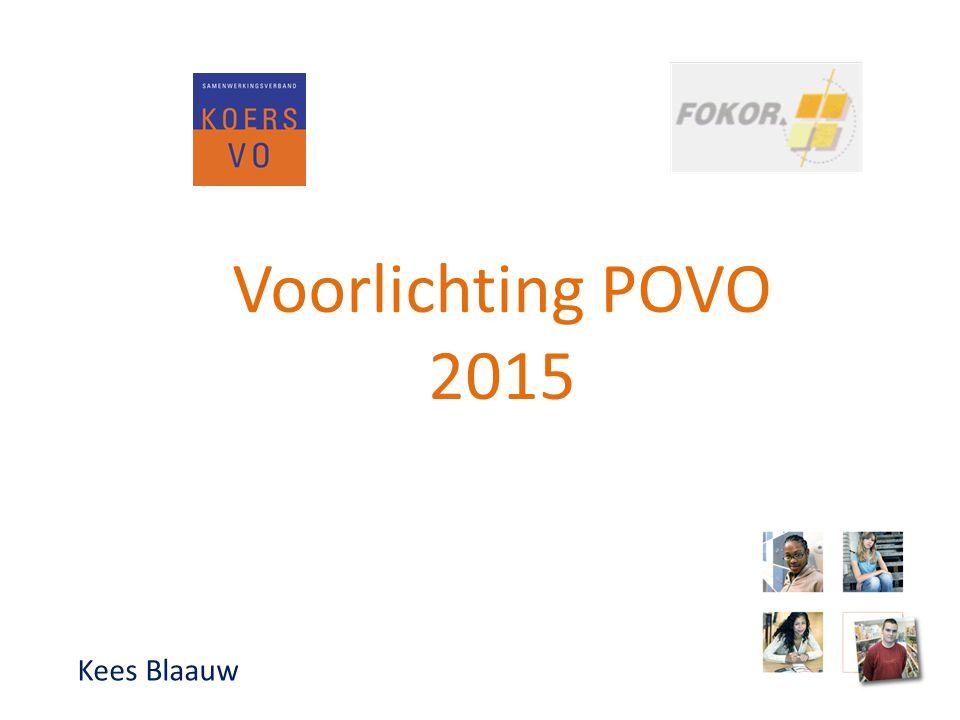 Voorlichting POVO 2015 Kees Blaauw