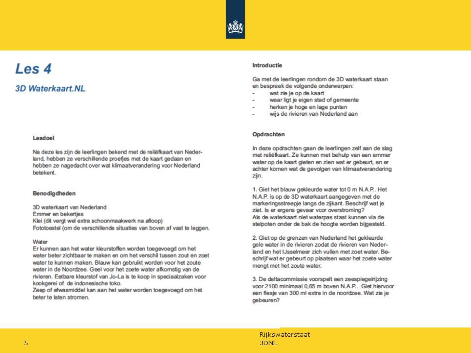 Rijkswaterstaat 3DNL6