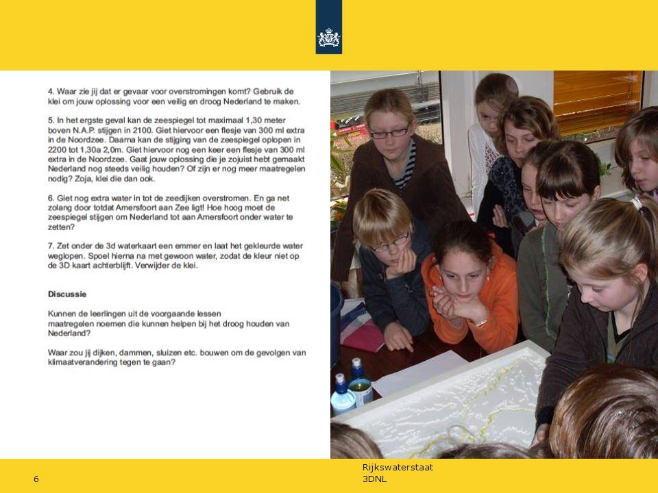Rijkswaterstaat 3DNL17 Deze film is een introductie voor het onderwijsprogramma 'Waterreis door de Tijd' voor de basisschool en voortgezet onderwijs.