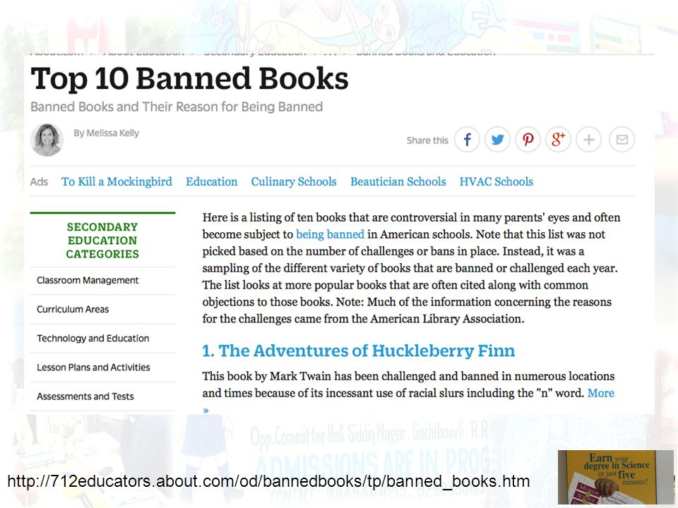 http://712educators.about.com/od/bannedbooks/tp/banned_books.htm