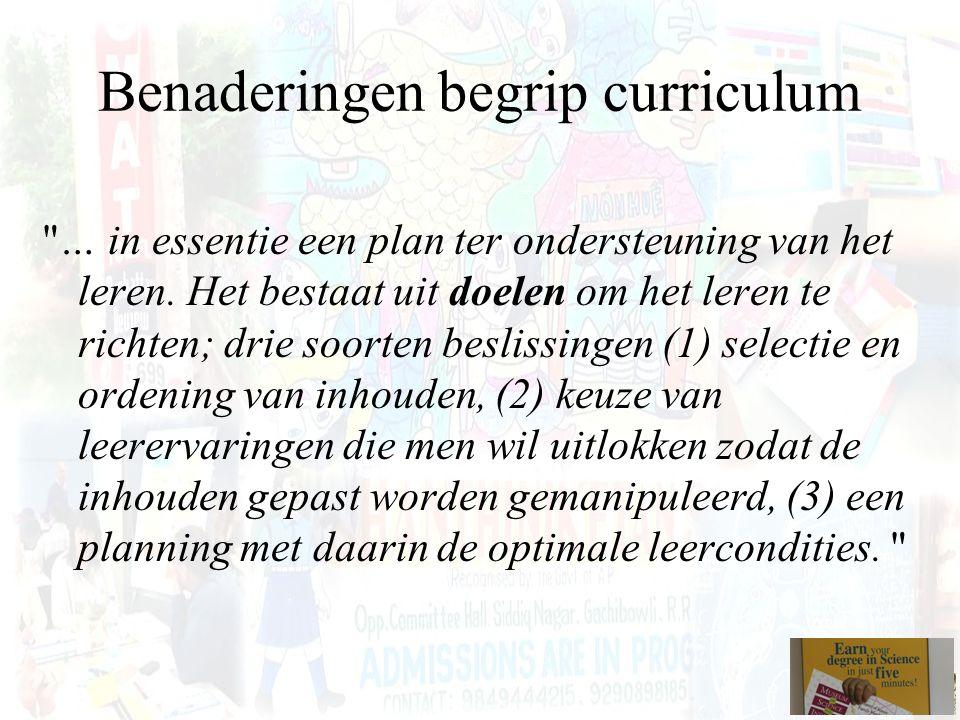 Eindtermen en ontwikkelingsdoelen Ontwikkelingsdoelen en eindtermen zijn minimumdoelen op het vlak van kennis, inzicht, vaardigheden en attitudes die de maatschappij via het Vlaams Parlement absoluut noodzakelijk acht voor het onderwijs van vandaag. (Ministerie van de Vlaamse Gemeenschap, 1998, p.6).