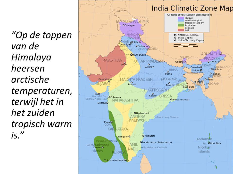 Als de moesson de deelstaat Assam tot de natste plek op aarde maakt, is de Thar- woestijn in het westen zo droog als de Sahara.