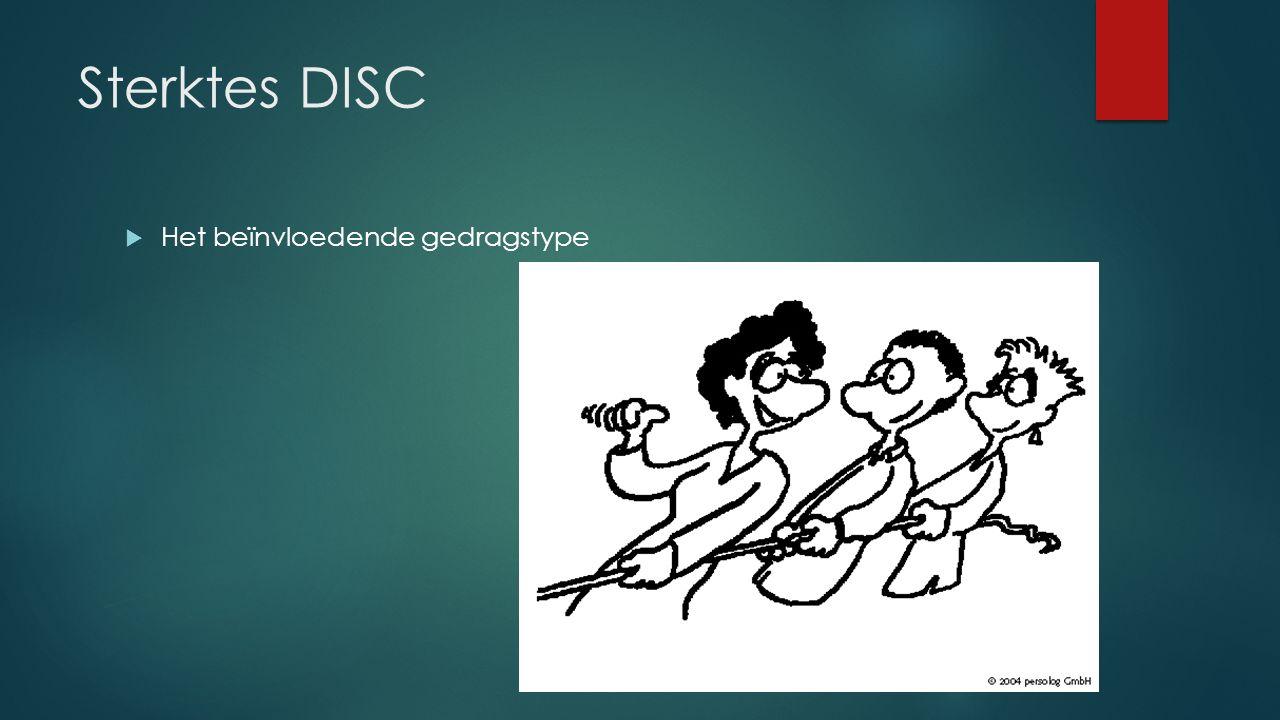 Sterktes DISC  Het beïnvloedende gedragstype